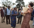 Honourable Minister Patricia Kaliati gives gift to beneficiaries _6